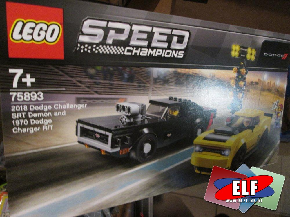Lego Speed Champions, 75893 Dodge Challenger SRT Demon, klocki