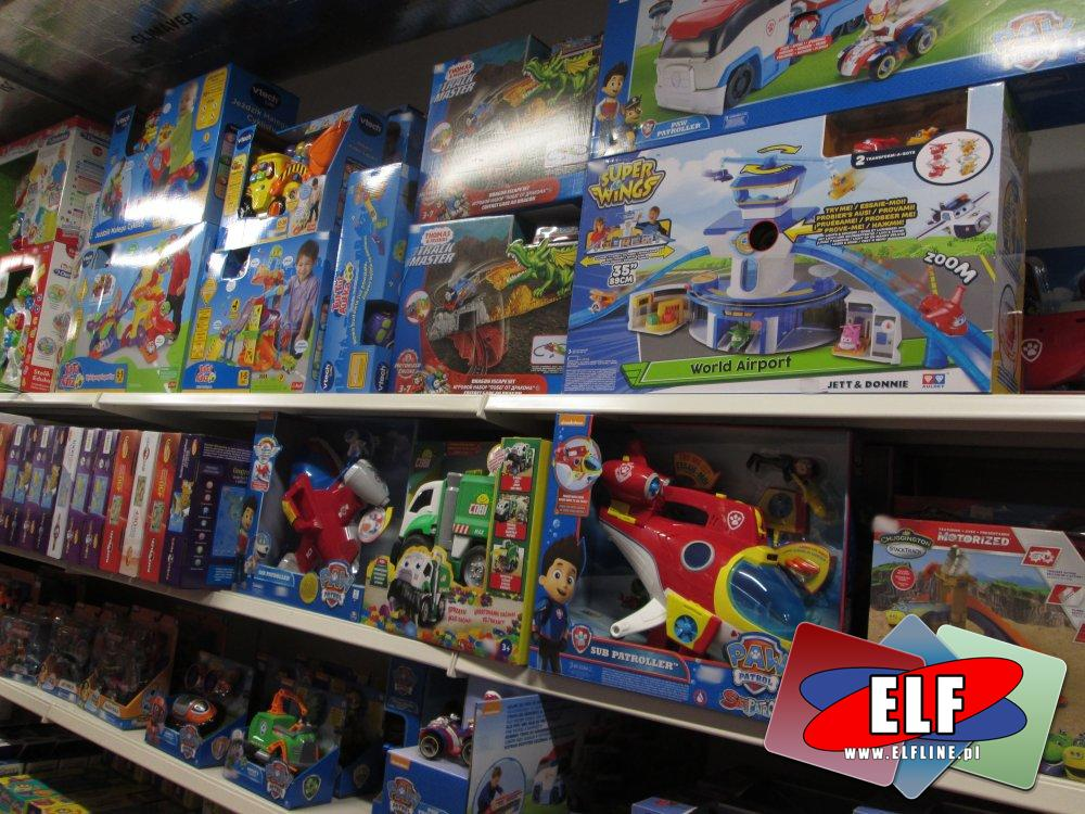 Super Wings, Psi Patrol, Paw patrol, Stacyjkowo, vTech, Clementoni i inne zabawki