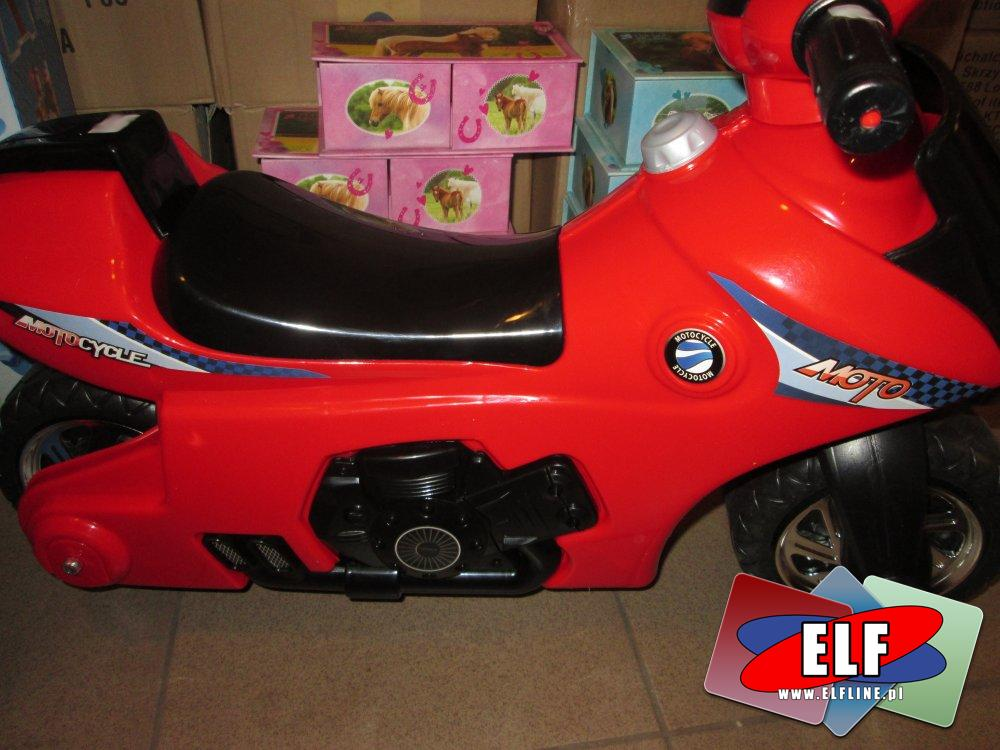 Motor na akumulator, Czerwony, Motory akumulatorowe
