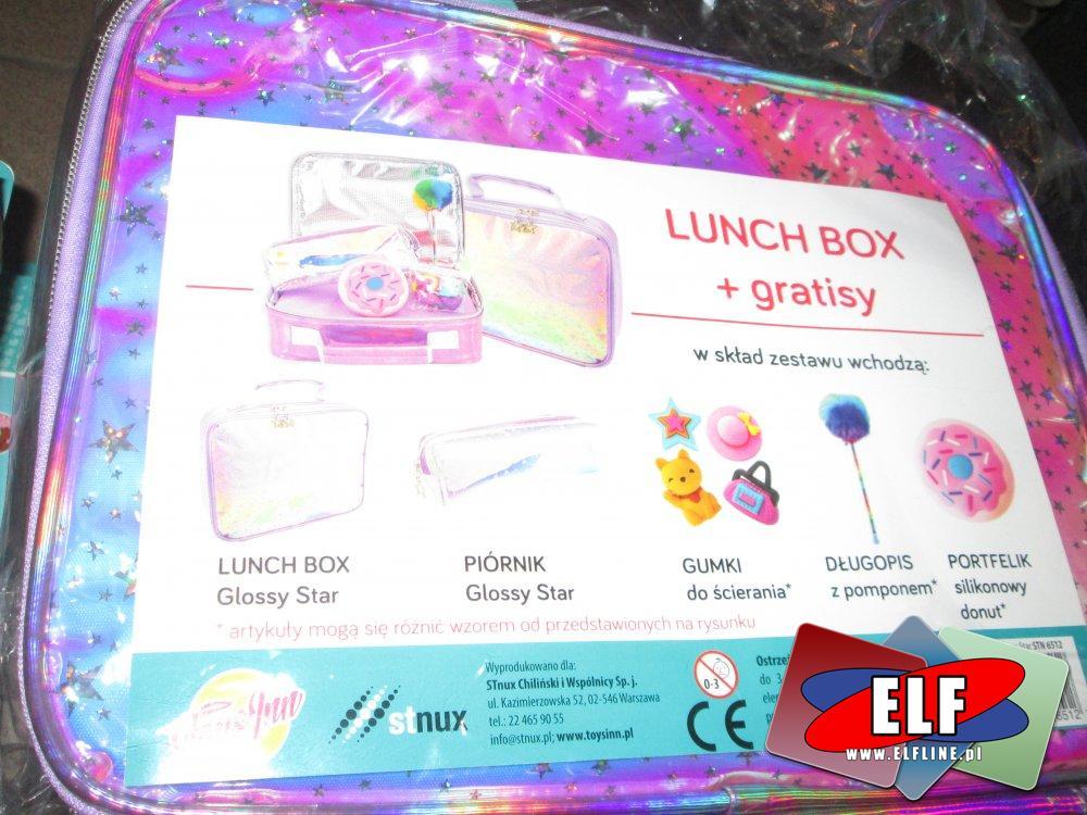 Lunch Box + gratisy, pudełko na śniadanie, pudełka śniadaniowe