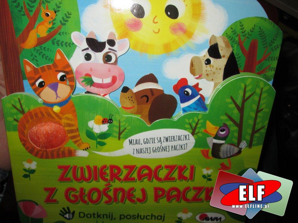 Interaktywne książeczki dla dzieci, dotknij i posłuchaj, książeczka dla dziecka, interaktywna i edukacyjna