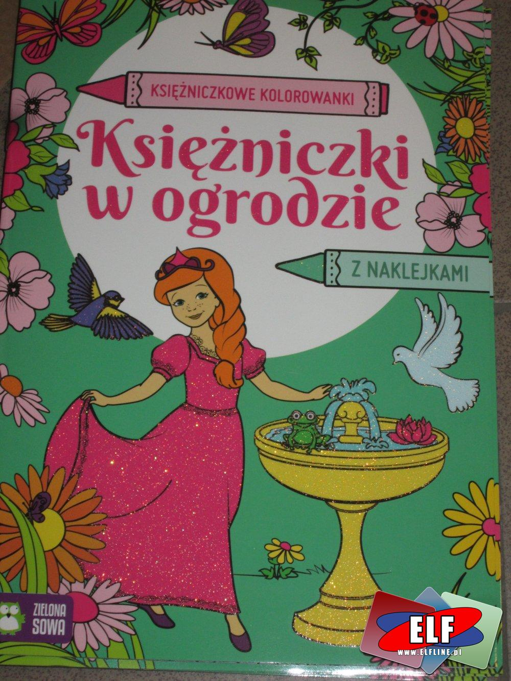 Księżniczkowe Kolorowanki, kolorowanki z naklejkami różne, i inne, kolorowanka