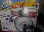 Toy Band, Rock Drummer, Perkusja, Perkusista rockowy, instrument muzyczny, instrumenty muzyczne, zabawka, zabawki