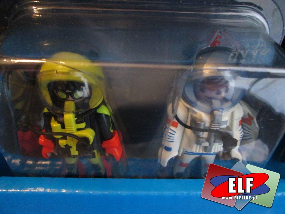 Playmobil, Figurki kosmonauty i nurka
