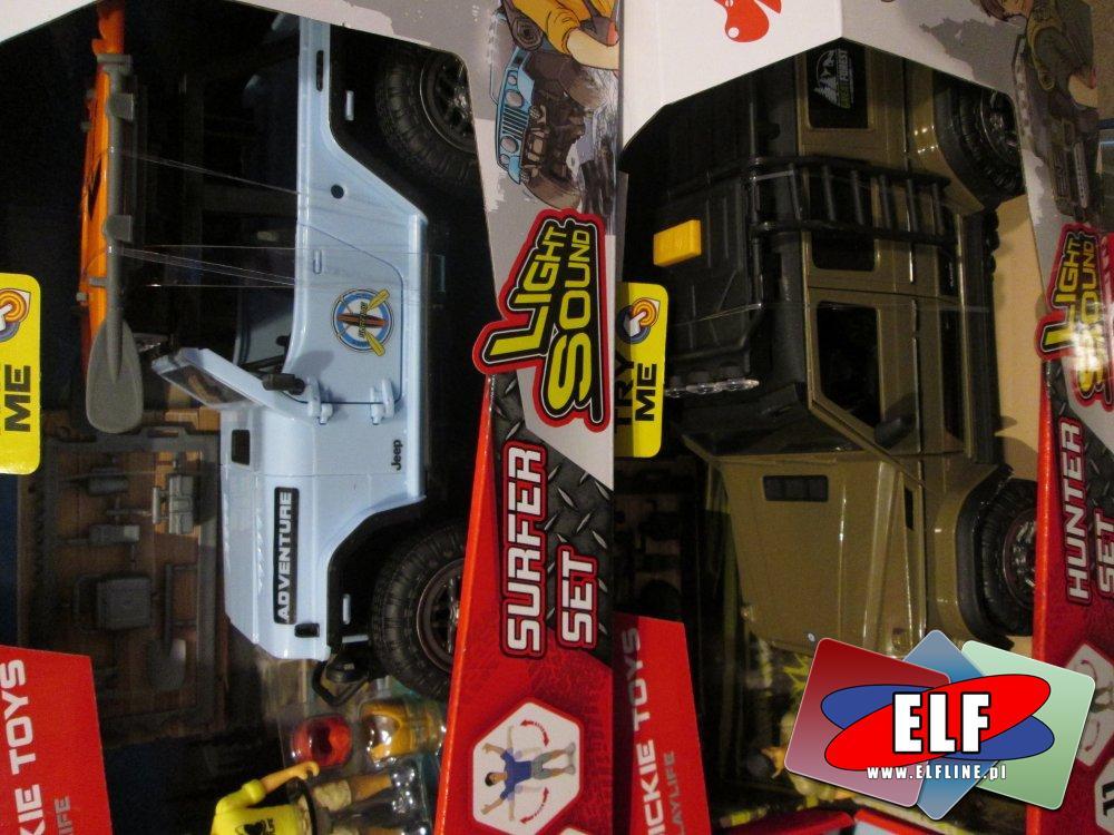 Samochody terenowe, Jeep, Samochód terenowy, zabawkowy, zabawka