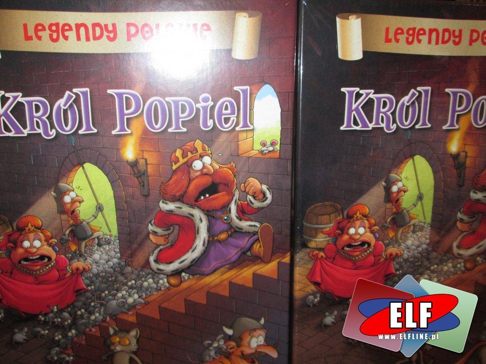 Legendy Polskie, Gra król popiel, Smok Wawelski, i inne gry
