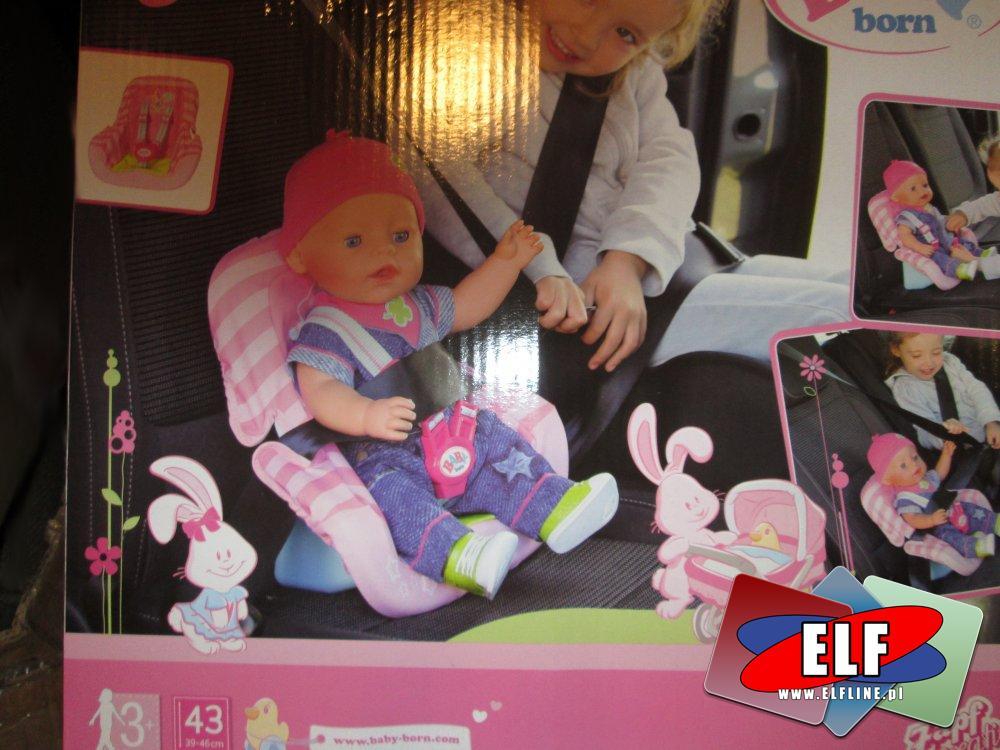 Baby Born, Siedzisko dla lalki, siedziska dla lalek, do samochodu itp.