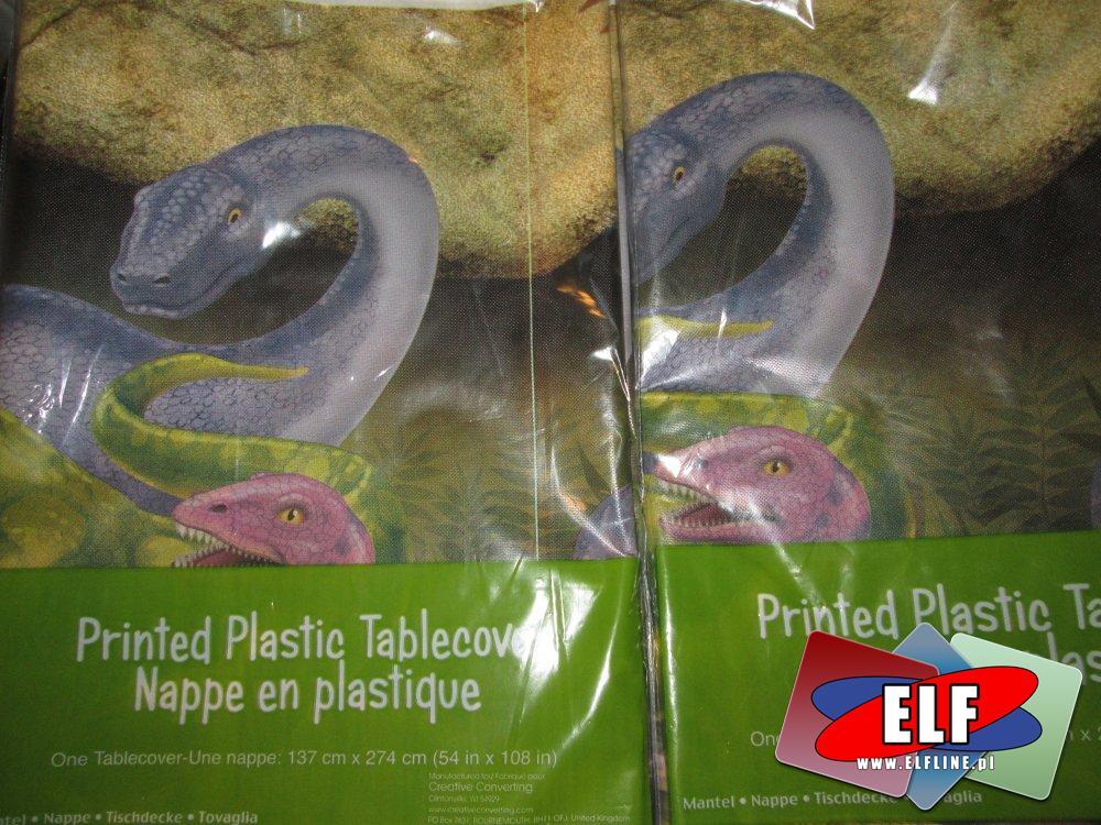 Obrus plastikowy, obrysy plastikowe na stół