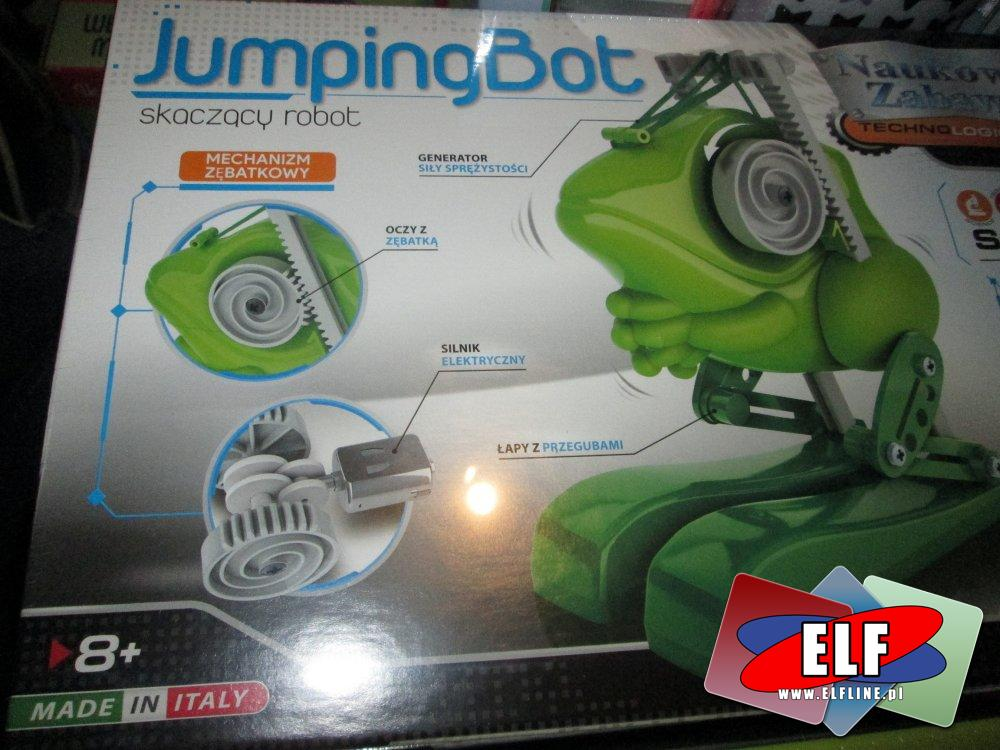 JumpingBot, Skaczący robot, zabawka edukacyjna, kreatywna, zabawki kreatywne i edukacyjne