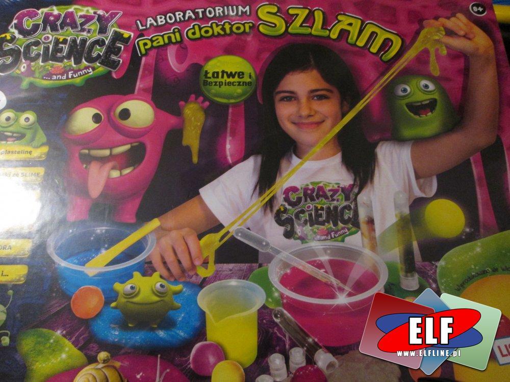 Laboratorium Pani Doktor Szlam, Crasy Science, Zabawka kreatywna, zabawki kreatywne