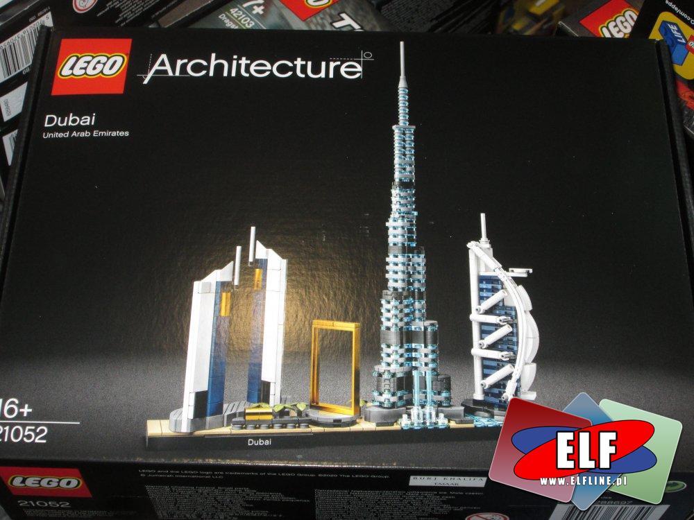 Lego Architecture, 21052 Dibai, klocki