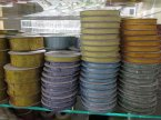 Wstążki, Różne typy, wozry i kolory w tym materiałowe, Wstążka ozdobna, ozdoby