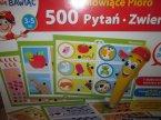 Mówiące pióro, zestaw 500 pytań, zabawka edukacyjna i kreatywne, kreatywne i edukacyjne zabawki