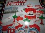 Tor samochodowy centrum szpitalne, zabawka, tory samochodowe, samochody, samochodziki, karetka, ambulans, szpital