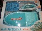 Mini Appliances, Zestaw do prasowania, Żelazko, Deska, zabawka, zabawki, zabawa w dom