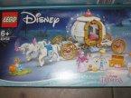 Lego Disney Princess, 43192 Królewski powóz Kopciuszka, klocki