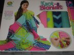 Colorful  Knot a Blanket DIY, Zrób kolorowy kocyk