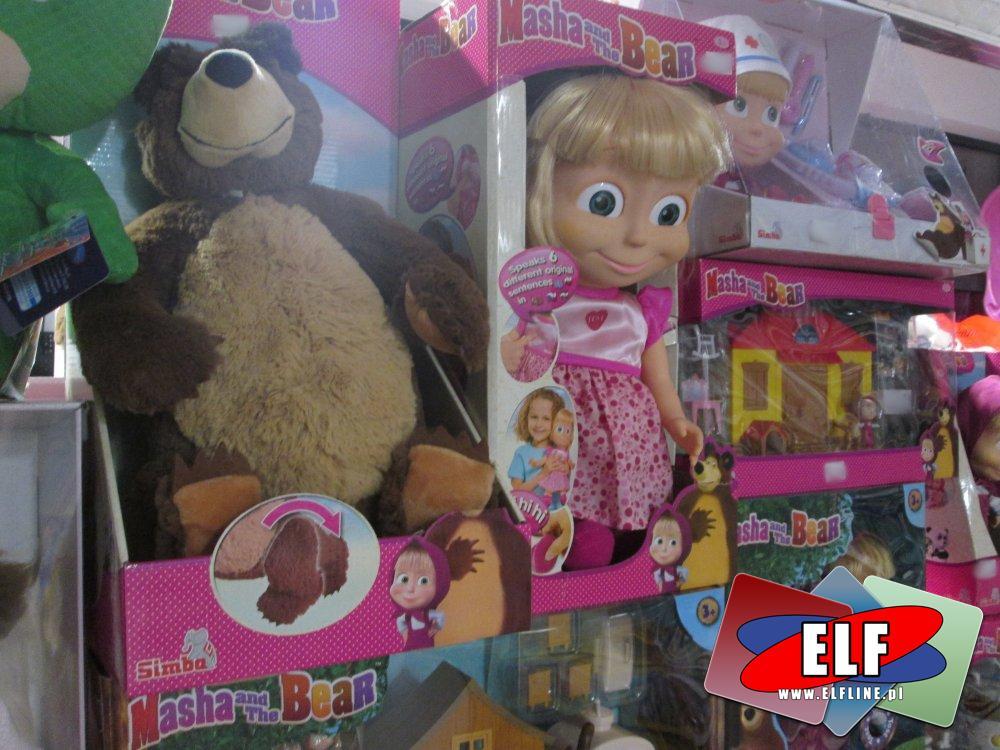Masha and The Bear, Masza i Niedźwiedź, lalka, lalki