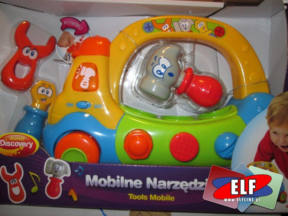 Mobilne narzędzia, zabawka kreatywna, edukacyjna
