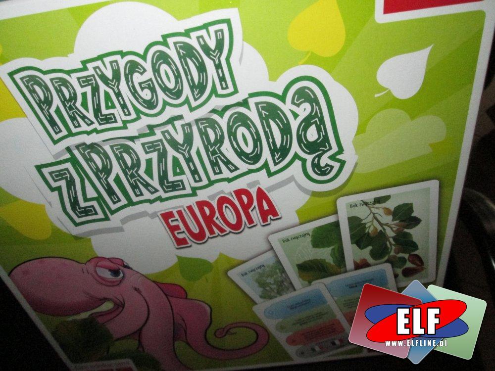 Gra Przygody z Przyrodą Europa, Gry edukacyjne, Gra edukacyjna
