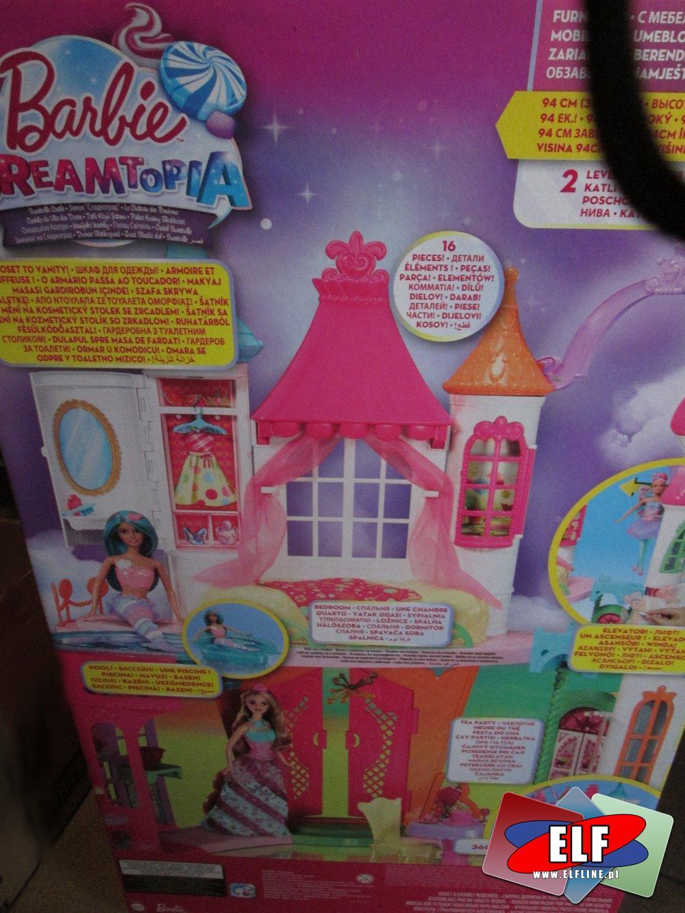 Barbie Dreamtopia, domek dla lalek, domki dla lalki, lalka