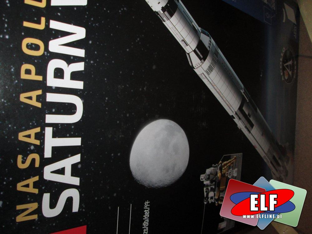 Lego Nasa Apollo Saturn V, 92176, klocki