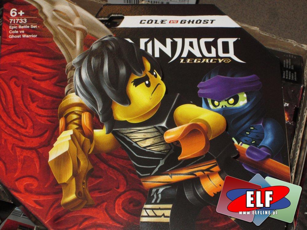 Lego Ninjago Legacy, 71733, 71730, 71731, 71732, klocki, Epicki zestaw bojowy