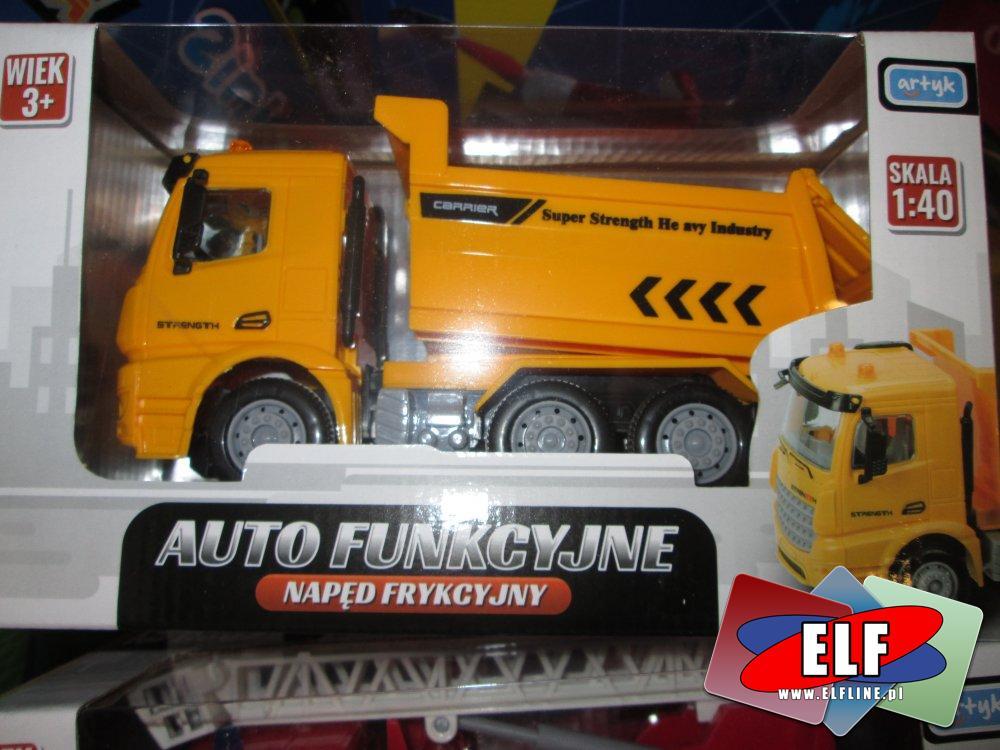 Auto fikcyjne z napędem frykcyjnym, samochód zabawka, samochody zabawki