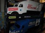 Samochody ciężarowe zabawki, Pogotowie, Policja, Ambulans