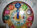 Zabawka edukacyjna zegar