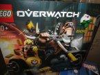 Lego Overwatch, 75977 Wieprzu i Złomiarz, 75975 Posterunek: Gibraltar, klocki Lego Overwatch, 75977 Wieprzu i Złomiarz, 75975 Posterunek: Gibraltar, klocki