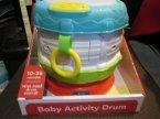 Baby Activity Drum, Zabawka edukacyjna dla dzieci, Bębenek