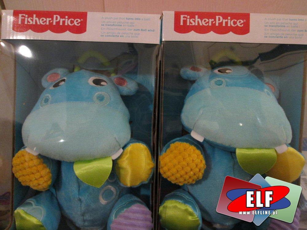 Fisher-Price Maskotka, Maskotki, Hipopotam, Pluszak, Pluszaki