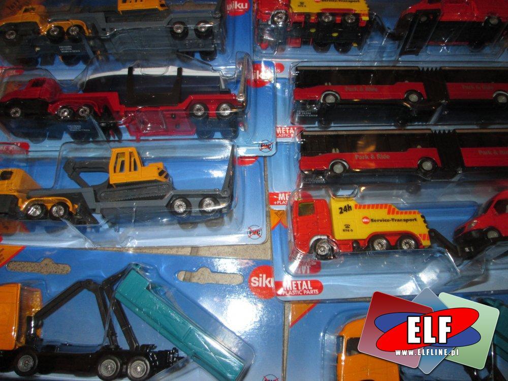 Siku modele samochodów, pojazdów, różne