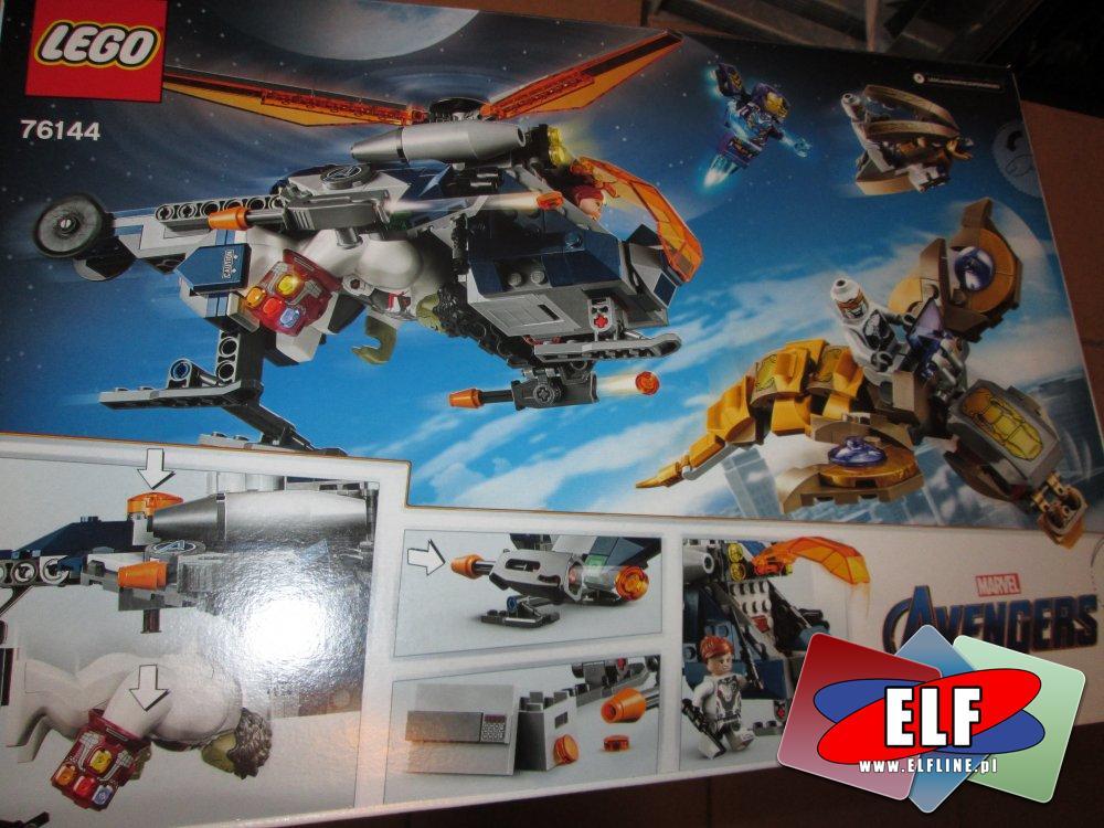 Lego Marver Avengers, 76144, 76142, 76148, klocki