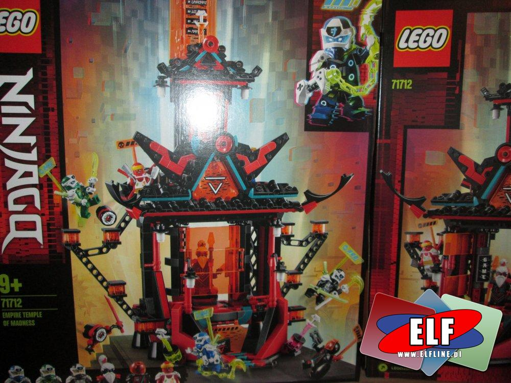 Lego Ninjago, 71712 Imperialna Świątynia szaleństwa, klocki