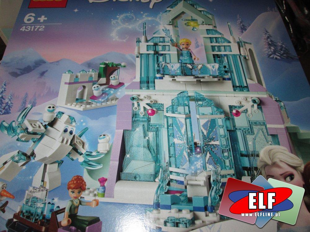 Lego Disney Frozen, 43172 Magiczny Lodowy Pałac Elsy, klocki