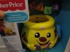 Fisher-Price, Garnuszek na Klocuszek, magicznie rozpoznaje sortowane klocki, zabawka edukacyjna, zabawki edukacyjne