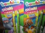 Bambino ołówki trójkątne do nauki pisania, ołówek trójkątny