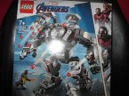 Lego, Marvel Avengers, 76124 War Machine Buster, klocki