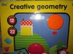 Kreatywna geometria, zabawka edukacyjna, zestaw edukacyjny, kreatywny, kreatywna