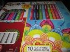 Sharpie, Paper Mate, kolorowe długopisy, długopis kolorowy