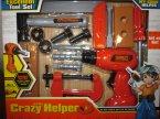 Excellent Tool Set, Little Crazy helper, narzędzia, zestaw z narzędziami, zabawka, zabawki, wiertarka, młotek, różne narzędzia