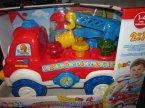 Baby Clementoni, zabawka edukacyjna, interaktywna, straż pożarna, henio pomocny narzędzio-wóz