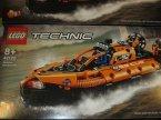 Lego Technic, 42121 Wytrzymała koparka, 42120 Poduszkowiec ratowniczy, klocki