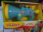 Moja pierwsza TGrąbka, My first Trumpet, Zabawka, instrument muzyczny, zabawkowy instrument muzyczny