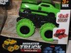 Monster Truck Wersja Mini,m Autka, 4x4 napęd frykcyjny, Funny Toys for Boys