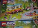 Lego Friends, 41681 Leśny mikrobus kempingowy i żaglówka, klocki Lego Friends, 41681 Leśny mikrobus kempingowy i żaglówka, klocki