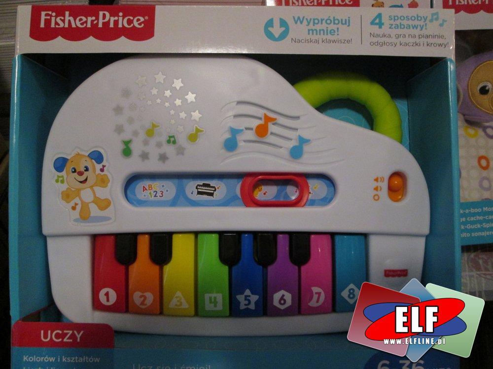Fisher-Price, Pianinko, Uczy kolorów i kształtów, zabawka edukacyjna, zabawki edukacyjne