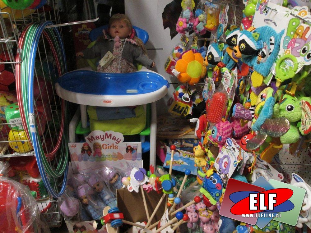 Arti Stoliczek dla lalek, Lalki May May Girls, Zabawki Lamaze, HulaHop, Pchacze i inne zabawki